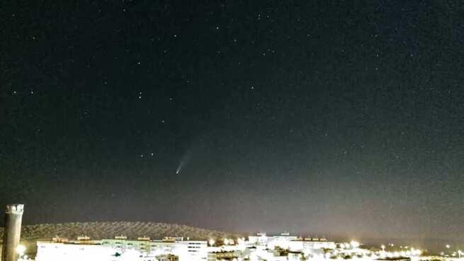 Ya ha llegado a España el cometa Neowise
