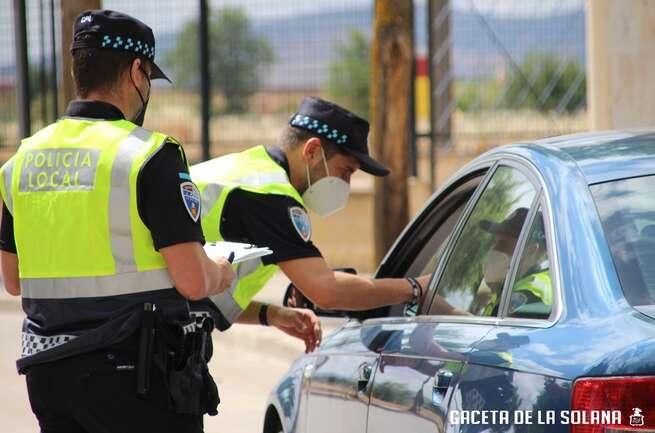Varios heridos en accidentes urbanos durante el fin de semana en La Solana