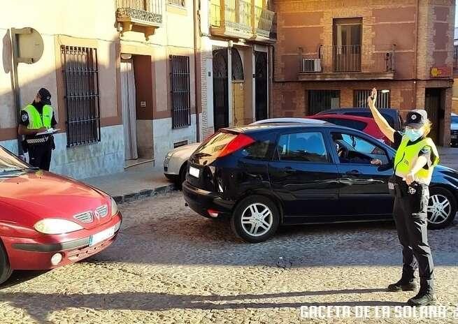 La Policía Local de La Solana termina su campaña de distracciones al volante con 22 denuncias