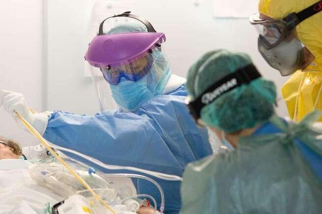 Continúa mejorando la situación hospitalaria por el COVID en Castilla-La Mancha