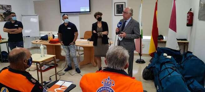 Celebrado en Socuellamos un curso de formación básica para voluntarios de Protección Civil