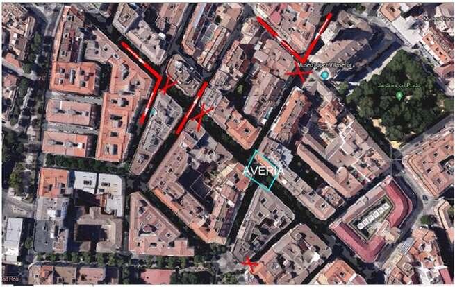 Mañana jueves se cortarán al tráfico en Ciudad Real las calles Postas y Morería por obras de canalizaciones en la calzada