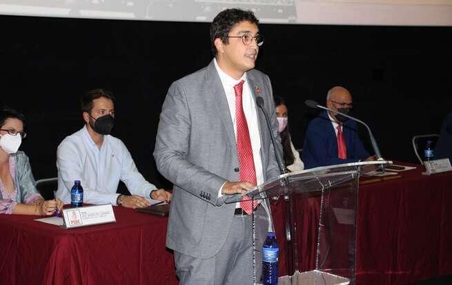 Eulalio Díaz-Cano prometió su cargo como nuevo regidor de La Solana