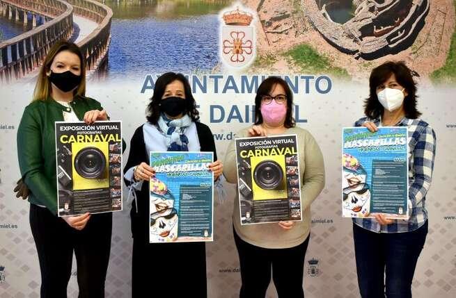 Un concurso de diseño de mascarillas y una exposición virtual para celebrar el Carnaval de Daimiel