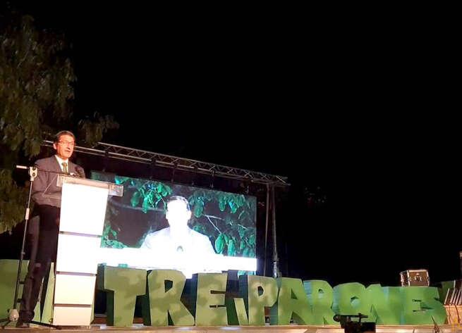 Caballero destaca el papel de los grupos de acción local en la entrega de Premios al Emprendimiento de la Comarca de Entreparques