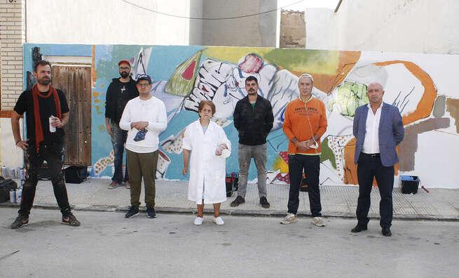 Indiscutible éxito del primer Festival de Arte Urbano Inclusivo de Aldea del Rey