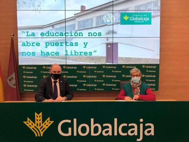 La Fundación Globalcaja Albacete ayuda en el mantenimiento del colegio 'El Ave María'