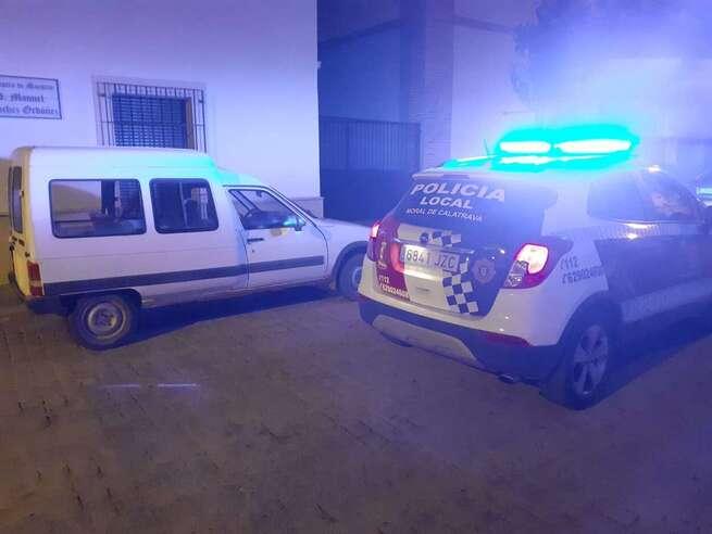Detenidos cuatro jóvenes por robos en interiores de vehículos en Moral de Calatrava (Ciudad Real)