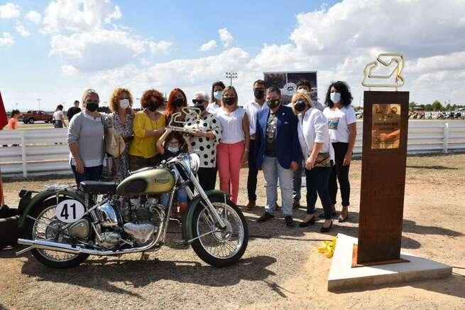 La Diputación de Albacete orgullosa de que el Circuito de Velocidad homenajeé al piloto local Román Muñoz, el primer albaceteño que da nombre a una curva de este trazado