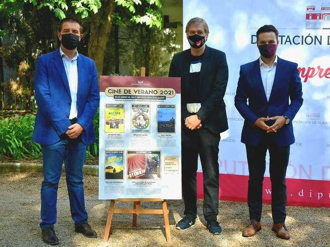 El mejor Cine de Verano regresa a los jardines del Chalet Fontecha con la Diputación de Albacete y Abycine