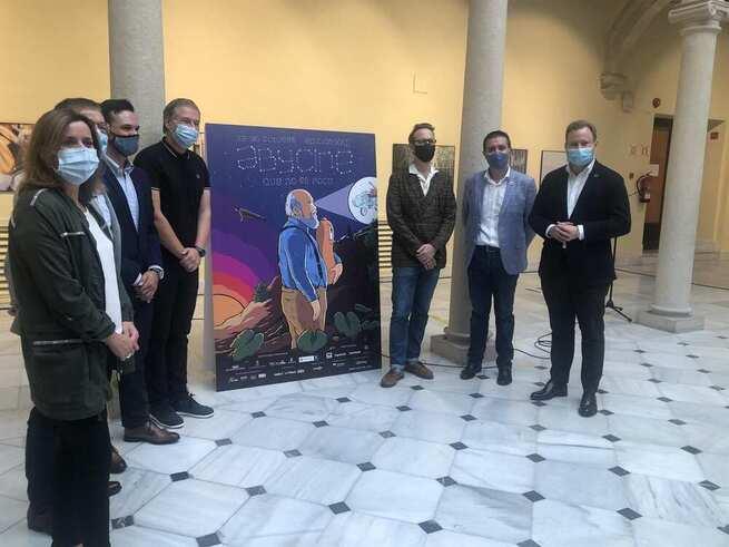 Joaquín Reyes elabora el cartel de Abycine 2020 con homenaje a Cuerda en una edición que será online y parte presencial
