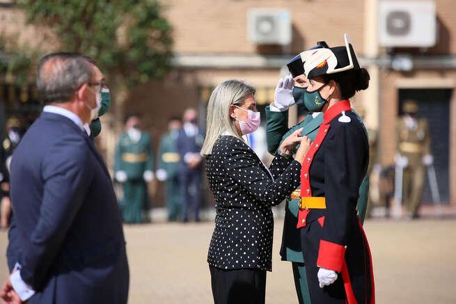 La alcaldesa de Toledo reconoce la labor de la Guardia Civil en el día de su Patrona y destaca su disposición siempre al servicio de la ciudad