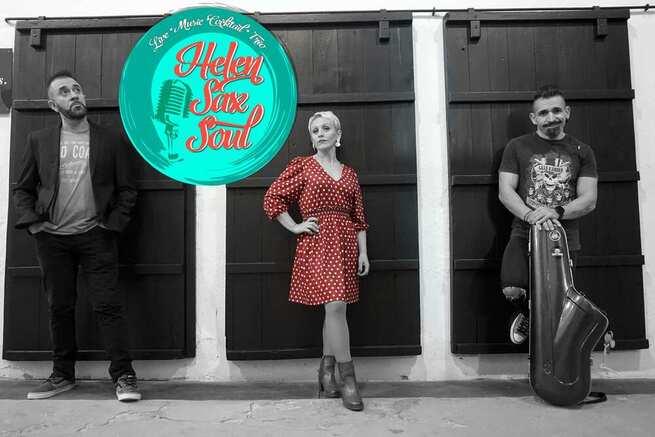 El trío musical valdepeñero Helen Sax Soul lanza su segunda cover en video