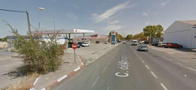 Herido grave un hombre durante una agresión con arma blanca en una gasolinera de Bolaños de Calatrava