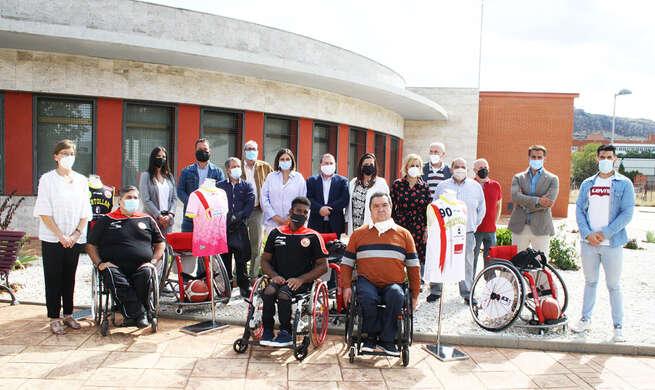 El Gobierno regional destaca la gran labor de integración de las personas con discapacidad que realiza el club BSR Puertollano