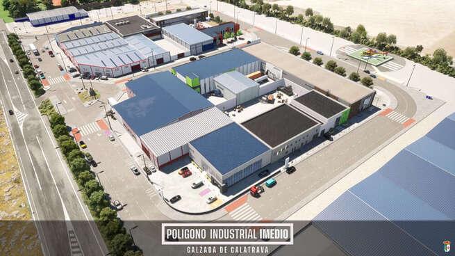 El ayuntamiento de Calzada de Calatrava incentiva la compra de suelo industrial en el Polígono Imedio