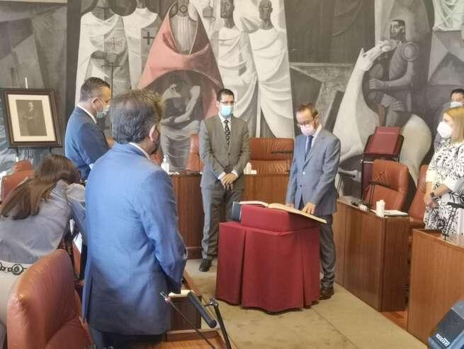 El Grupo Popular en Diputación de Ciudad Real da la bienvenida a Toledano como nuevo diputado provincial
