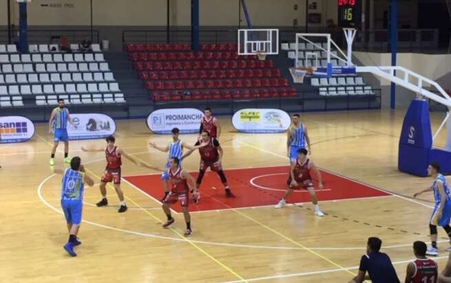 Mal estreno liguero del Club Baloncesto Ciudad Real