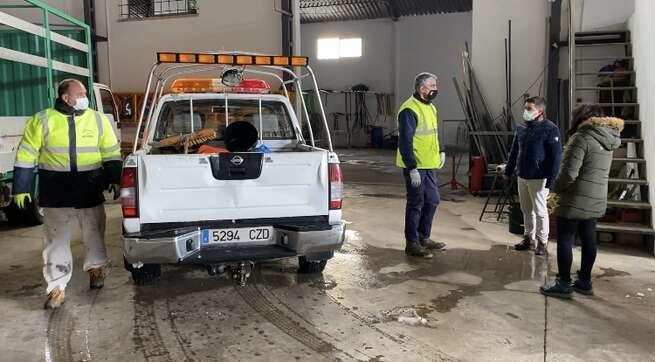 El Ayuntamiento de La Roda pide paciencia, colaboración vecinal y alerta de la previsión de hielo