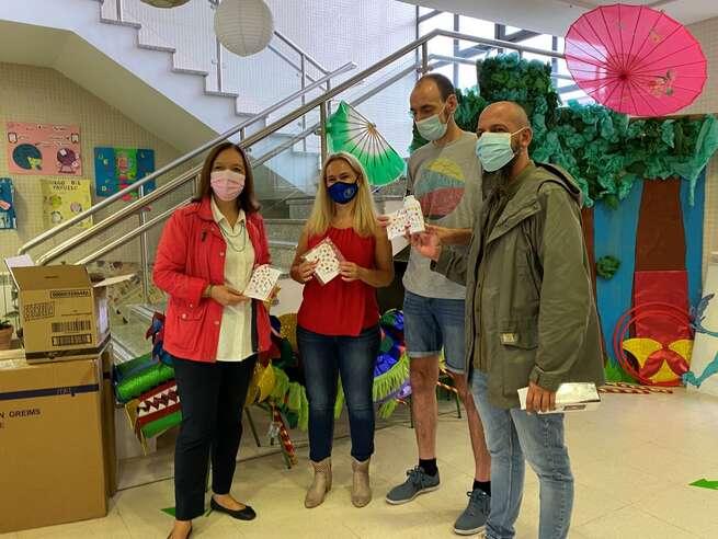 El Ayuntamiento de Alcázar ha comenzado la distribución de mascarillas al alumnado de Educación Infantil y Primaria