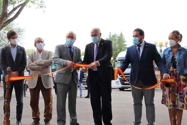 Muy buenas expectativas en la apertura de la 3ª Feria Nacional de Vehículos Industriales de Ocasión de Manzanares
