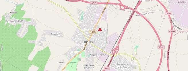 Cinco personas afectadas por inhalación de humo tras declararse un incendio en una vivienda de Yuncos (Toledo)