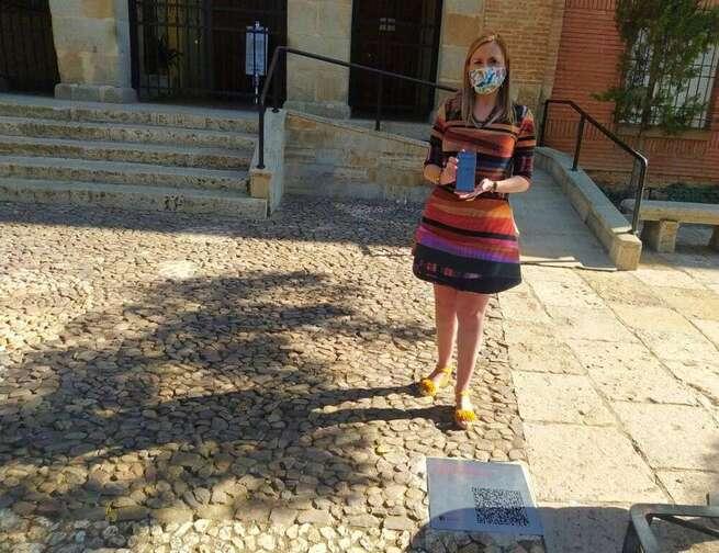 Valdepeñas instala códigos QR en espacios de interés turístico para ampliar información