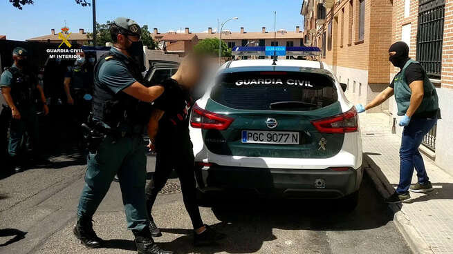 Detenudas cinco personas por cometer al menos 44 delitos de robos con gran violencia en la comarca de Torrijos
