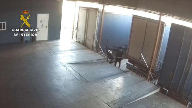 Desarticulado un grupo criminal dedicado a robos en interiores de camiones en las provincias de Madrid, Toledo y Albacete