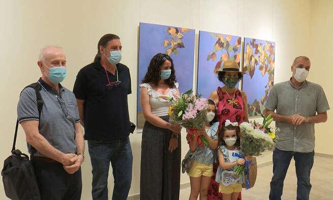 El Museo Elisa Cendrero de Ciudad Real acoge la mezcla de texturas de la obra de Carmen Puebla