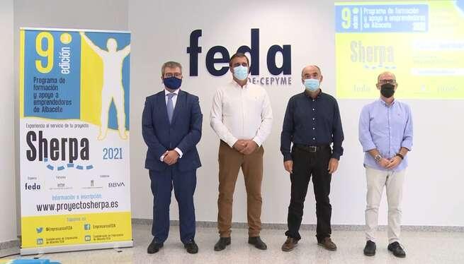 Presentada en Villarrobledo la novena edición del programa Sherpa de FEDA de apoyo a emprendedores