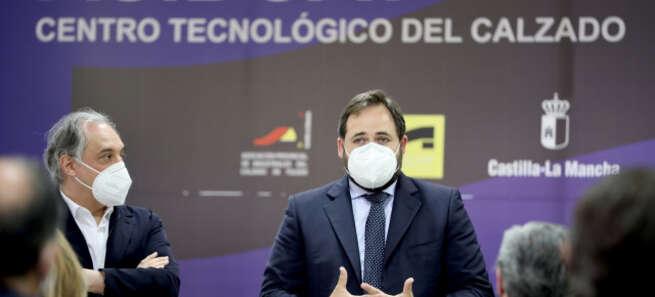 """Núñez: """"No estoy dispuesto a renunciar a la viabilidad de la industria del calzado ni a los miles de empleos que genera en nuestra tierra"""""""