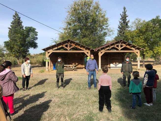 Castilla-La Mancha inicia el programa de sensibilización y divulgación ambiental de otoño para familias en el Vivero de Toledo