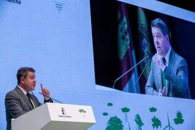 García-Page exige que el contenido del Pacto regional del Agua, firmado por representantes de toda la sociedad, sea elevado al Congreso