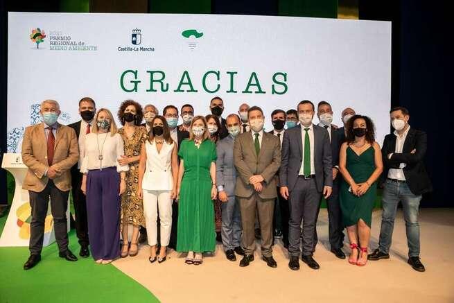 El Gobierno de Castilla-La Mancha reconoce a 21 personas y entidades su aportación en favor del medio ambiente y la sostenibilidad en la región
