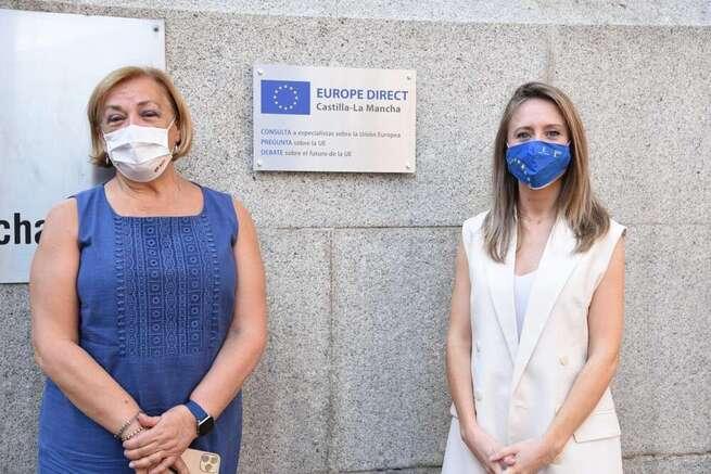 Castilla-La Mancha renueva hasta el 2025 la permanencia del centro Europe Direct a la red europea