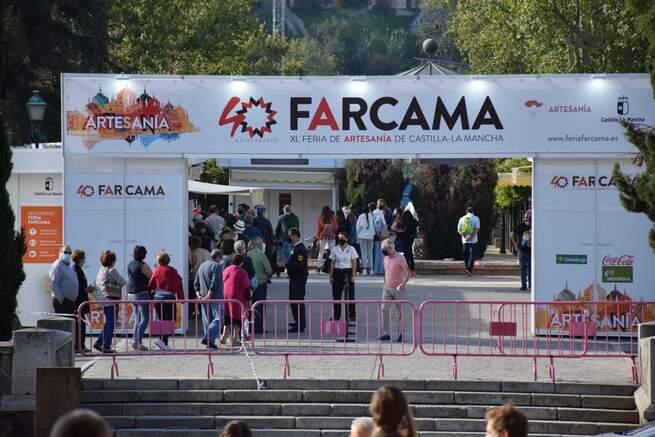 La 40 edición de FARCAMA cierra sus puertas con más de 123.500 visitas en el reencuentro de la artesanía con su cita señera en Castilla-La Mancha