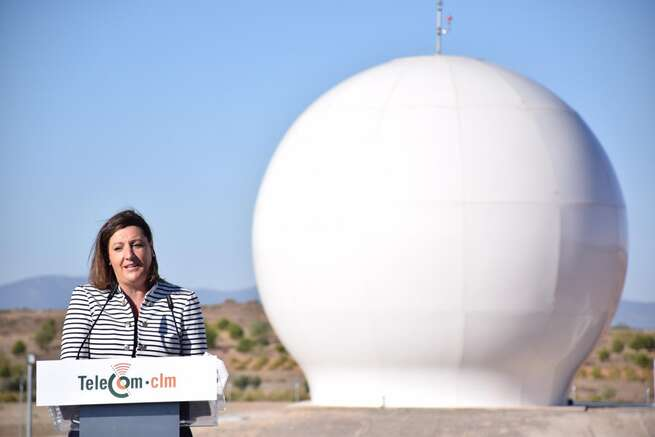 Inaugurado en Alcázar el primer Telepuerto Satelital como referente para el despliegue de las telecomunicaciones en Castilla-La Mancha