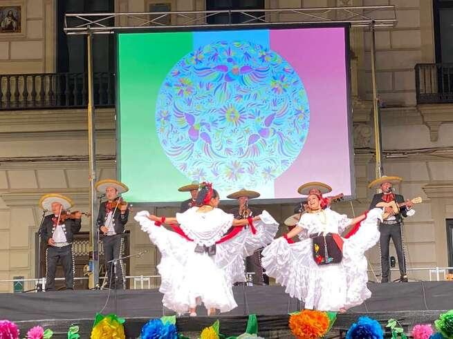 Concluye en Alcázar el LVII Festival internacional de folklore