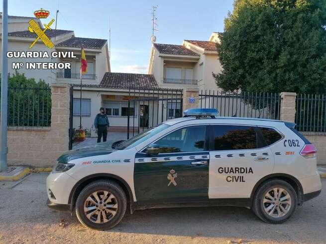 Detenido un hombre en El Toboso que quebrantó una orden de alejamiento y agredió a su pareja sentimental