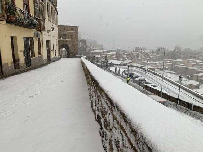 El Ayuntamiento de Toledo pone a disposición de la ciudadanía un correo electrónico para solicitar el justificante laboral a causa de la nieve
