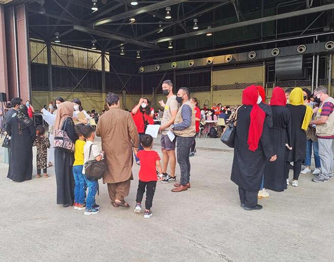 Marchamalo acogerá a una familia afgana evacuada en una misión militar española