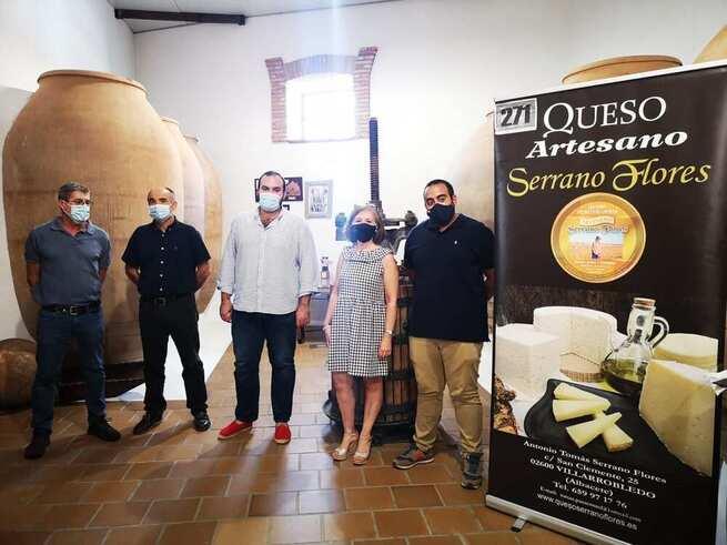 Villarrobledo se da a conocer como reclamo para el enoturismo a través de la Ruta del Vino de la Mancha