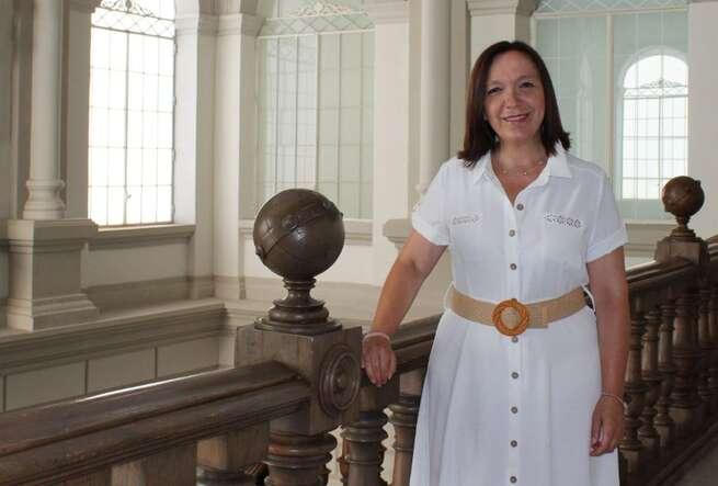"""Rosa Melchor: """"La instalación de una planta de hidrogeno verde en Alcázar encaja con nuestro modelo de ciudad"""""""