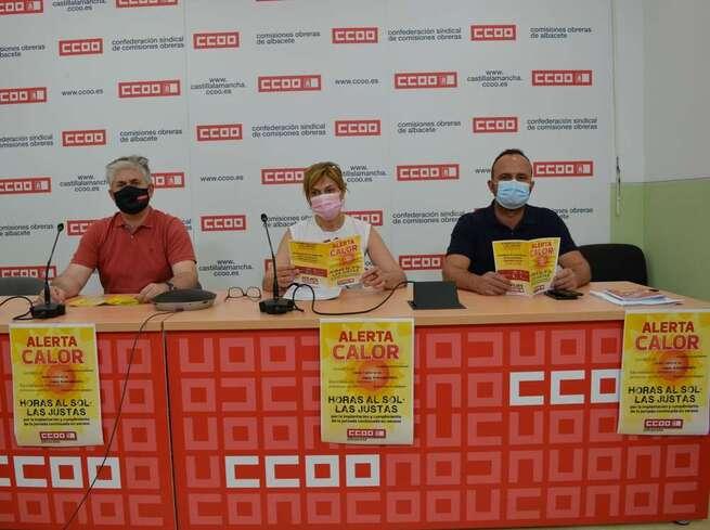 CCOO tacha de trágica esta semana para la siniestralidad laboral en Albacete