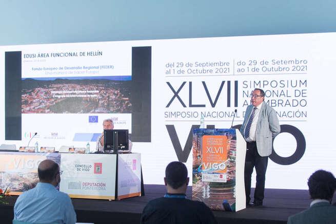 La Diputación de Albacete, modelo de éxito y ejemplo de desarrollo sostenible en materia de iluminación en el 'XLVII Simposium Nacional de Alumbrado' celebrado en Vigo