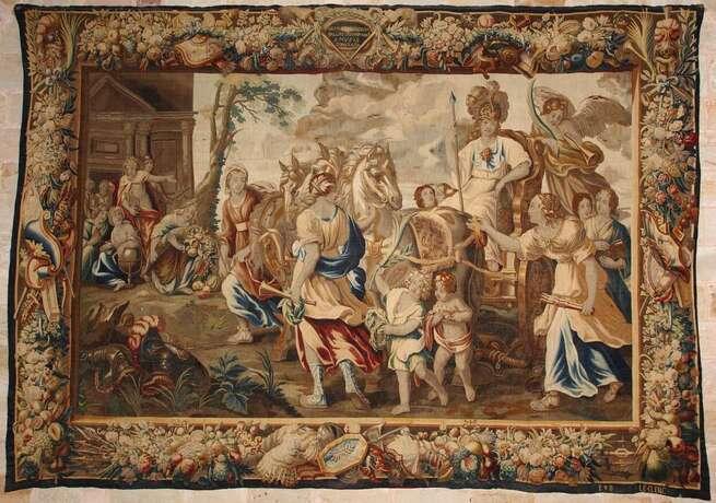 La colección de tapices flamencos de la catedral de Sigüenza