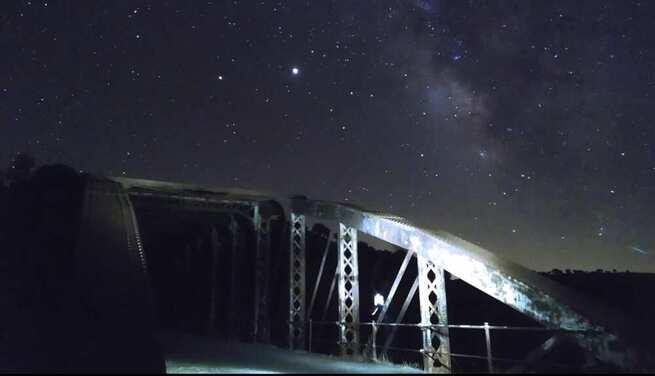 Video Timelapse de la Vía Láctea desde Chillón