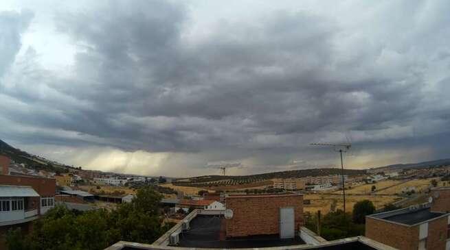 Video Timelapse día de tormentas a su paso por Puertollano