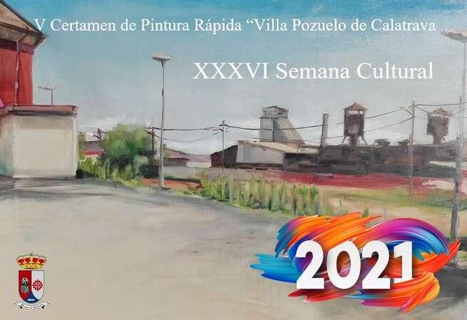 """Pozuelo de Calatrava celebra este domingo, 1 de agosto, el V Certamen de Pintura Rápida """"Villa de Pozuelo de Calatrava"""""""